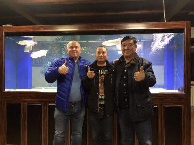 Andreas Drapa, Yong Gang Zhang, Li Ping Zuo China Cup 2017